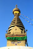 Bodhnath Stupa. Royalty Free Stock Images