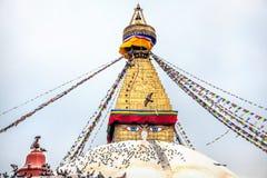 Bodhnath stupa Royalty Free Stock Photo