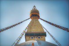 Bodhnath stupa Stock Photography