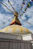 Bodhnath Stupa. At Kathmandu, Nepal Royalty Free Stock Photography