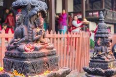 Bodhnath stupa in Kathmandu, Nepal. Royalty Free Stock Photos