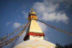 Bodhnath stupa w Nepal Obrazy Stock