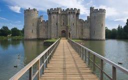 bodiam城堡 免版税库存图片