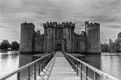 Bodiam Castle, γραπτό Στοκ φωτογραφία με δικαίωμα ελεύθερης χρήσης