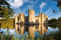 Bodiam Castle στην Αγγλία Στοκ φωτογραφίες με δικαίωμα ελεύθερης χρήσης