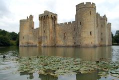 Bodiam Castle royalty free stock photo
