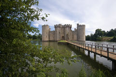 Bodiam Castle. In Sussex England Royalty Free Stock Images