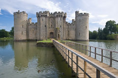 Bodiam Castle. In Sussex England Stock Photography