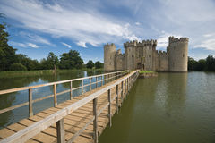 Bodiam Castle. In Sussex England Royalty Free Stock Photos