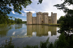 Bodiam Castle. In Sussex England Royalty Free Stock Image