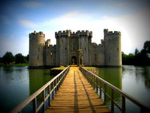 Bodiam castle Royalty Free Stock Photography