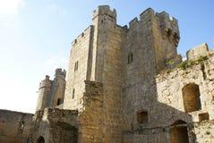 Bodiam Castle in Bodiam, Robertsbridge, East Sussex, England Stock Photo