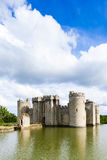 Bodiam Castle. In East Sussex, England Royalty Free Stock Images