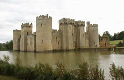 Bodiam Castle, East Sussex, England. Royalty Free Stock Photography