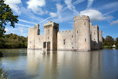 Bodiam castle, East Sussex, UK Royalty Free Stock Photo