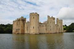 Bodiam Castle, England Royalty Free Stock Photo