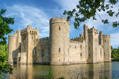 Bodiam Castle in England Stock Photography