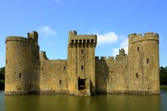 Bodiam Castle Stock Image