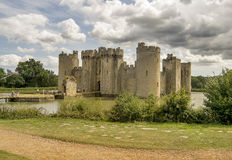 Bodiam castle Stock Photography