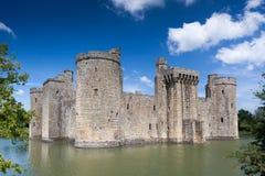 BODIAM, EAST SUSSEX/UK - JUNE 26 : Bodiam Castle in Bodiam East Stock Image