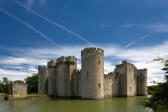 Bodiam Schloss Stockfotos