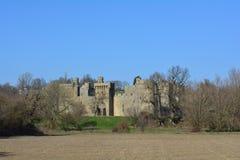 Bodiam slott Royaltyfri Fotografi