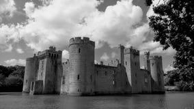 Bodiam slott Royaltyfria Bilder
