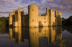 bodiam zamku Zdjęcia Royalty Free