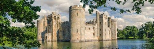 Bodiamkasteel in Engeland Stock Fotografie