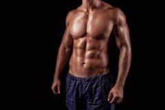 Bodibilder 'sexy' do homem. Imagem de Stock Royalty Free