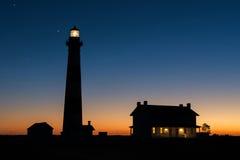 Bodie海岛灯塔,外面Bnks北卡罗来纳 库存图片