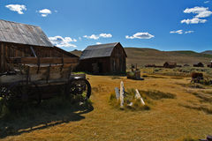 Bodie 1. Ghosttown Bodie - California Stock Images