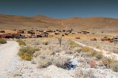 bodie ca nationalparktillstånd USA Fotografering för Bildbyråer