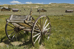 Bodie California the old broken wagon Stock Photography