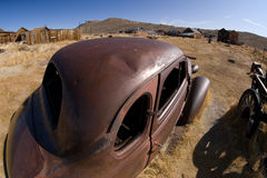 Bodie California scene. Remains of a once lively town, Bodie California Royalty Free Stock Images