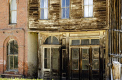 Bodie California the weathered old store fronts Royalty Free Stock Photography