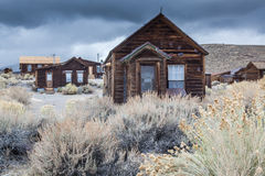 Bodie Ghost house. Abandoned home. Royalty Free Stock Photography