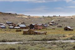Bodie Ghost Town Stock Afbeelding