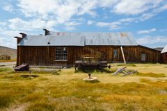 Bodie Ghost Town Stockfotografie