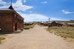 Bodie Ghost Town stockfotos