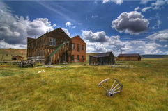 Bodie Ghost Town Stock Images