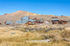 Bodie Ghost Town Photo stock