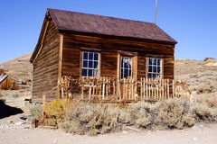 Bodie Ghost Town. An old house stock images