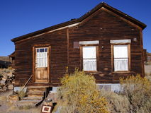 Bodie Ghost Town. An old house in a ghost town royalty free stock photography