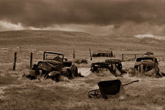 Bodie Ghost Town. This image was taken at Bodie National Park, CA. Bodie is the best real ghost town in North America Stock Photography