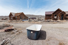 Bodie Ghost Town Foto de Stock Royalty Free