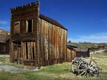 Bodie Ghost Town. The historic ghost town of Bodie, California Stock Images