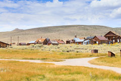 Bodie Ghost Town Royalty-vrije Stock Foto's