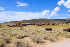 Bodie Ghost Town Royalty-vrije Stock Fotografie