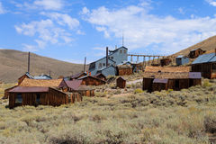 Bodie Ghost Town Stock Foto's